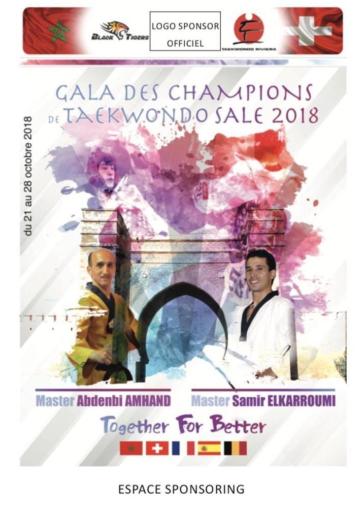 Gala international des champions et stage technique