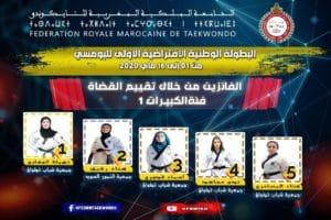 2ème Place au Championnat du Maroc de Poomsae