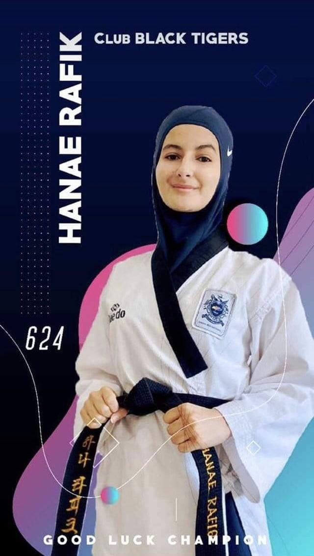 Votez pour Hanae Rafiq (Championnat du Maroc en ligne de Poomsae)