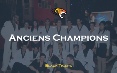 Anciens champions